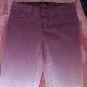 Ombre Pink Jeans